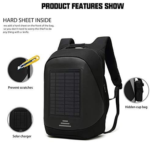 dtbg cargador solar mochila 156 pulgadas mochila portatil mu