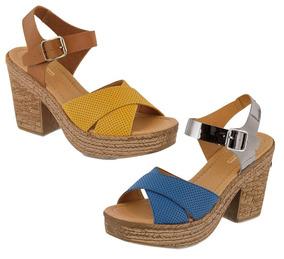 Mostaza Mujer Color Tacon Cklass Colleccion Aguja Zapatos JlK1cF