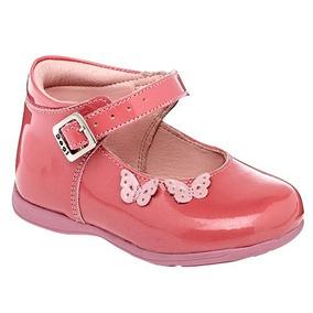 1e46ff4e Zapatos De Piel Para Niña Rosas Invierno Flats Balerinas Pyf - Zapatos en  Mercado Libre México