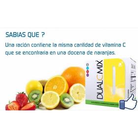 Dual C Omnilife Resfrios. Vitamina C 1 Caja De 30 Sobres