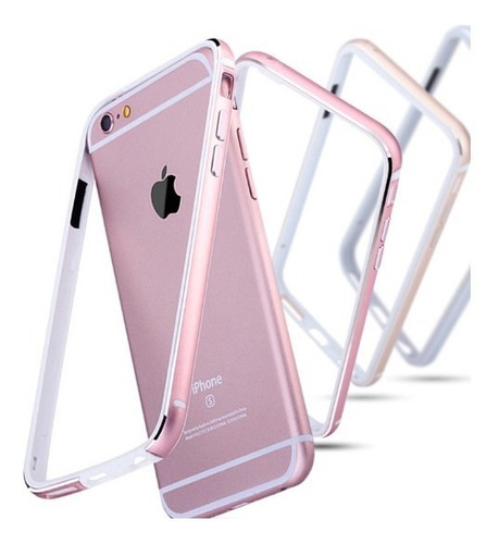 dual case funda protector bumper anticaidas iphone 6,6plus