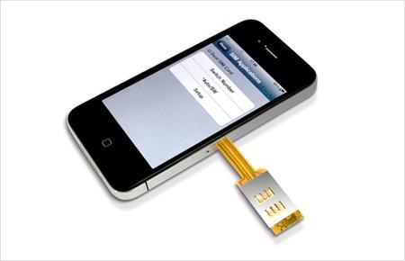 dual sim iphone 4 q-sim con carcaza usa dos sim boleta