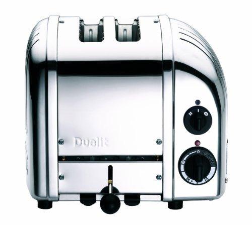 dualit 2-slice toaster, cromo