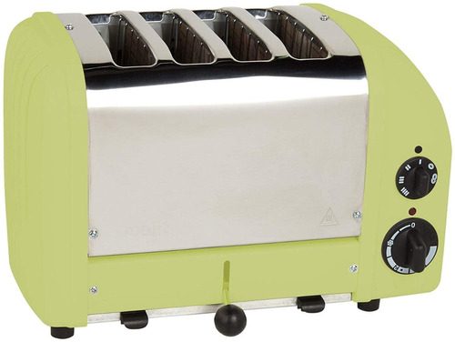 dualit 4 slice clásico tostadora, verde lima
