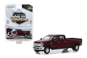 GreenLight dually drivers 1:64 2019 ford f-350 lariat dually-Dark Red venta *