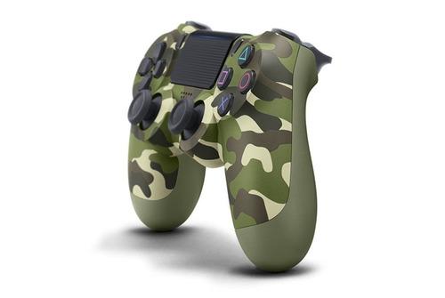 dualshock ps4 sony cuh-zct2u verde camuflaje joystick