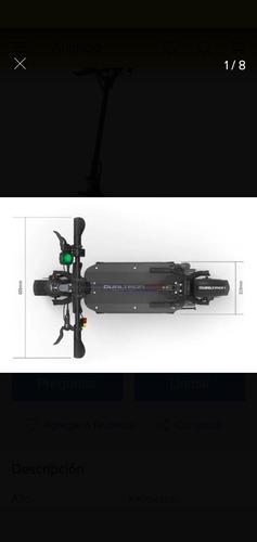 dualtron thunder luces led 5400watts plegable bateria lg