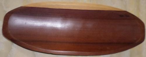 duas bandejas de madeira - bem conservadas