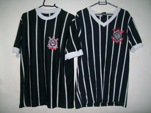 duas camisas do corinthians retro democracia