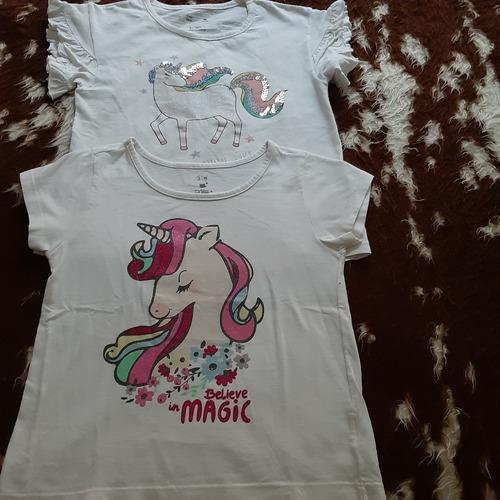 duas camisetas infantis - feminina