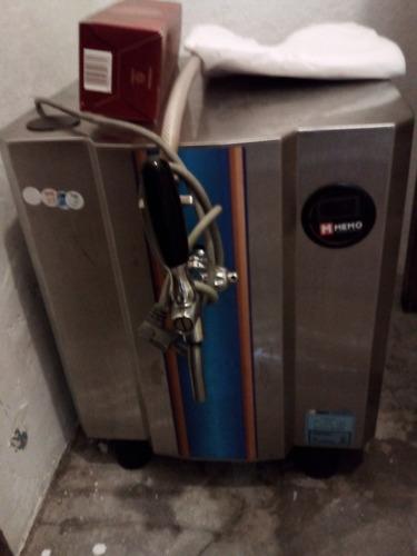 duas chopeiras eletricas usadas memo e angel + cilindro co2