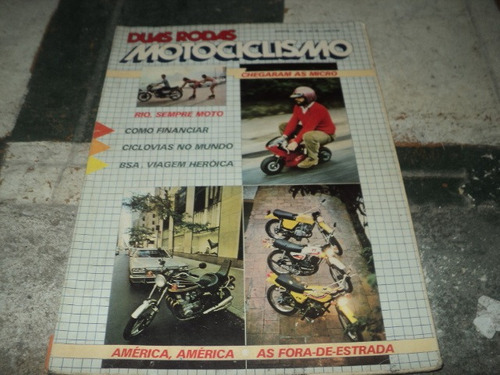 duas rodas agosto de 1980