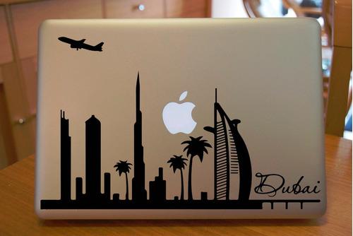 dubai sticker macbook laptop