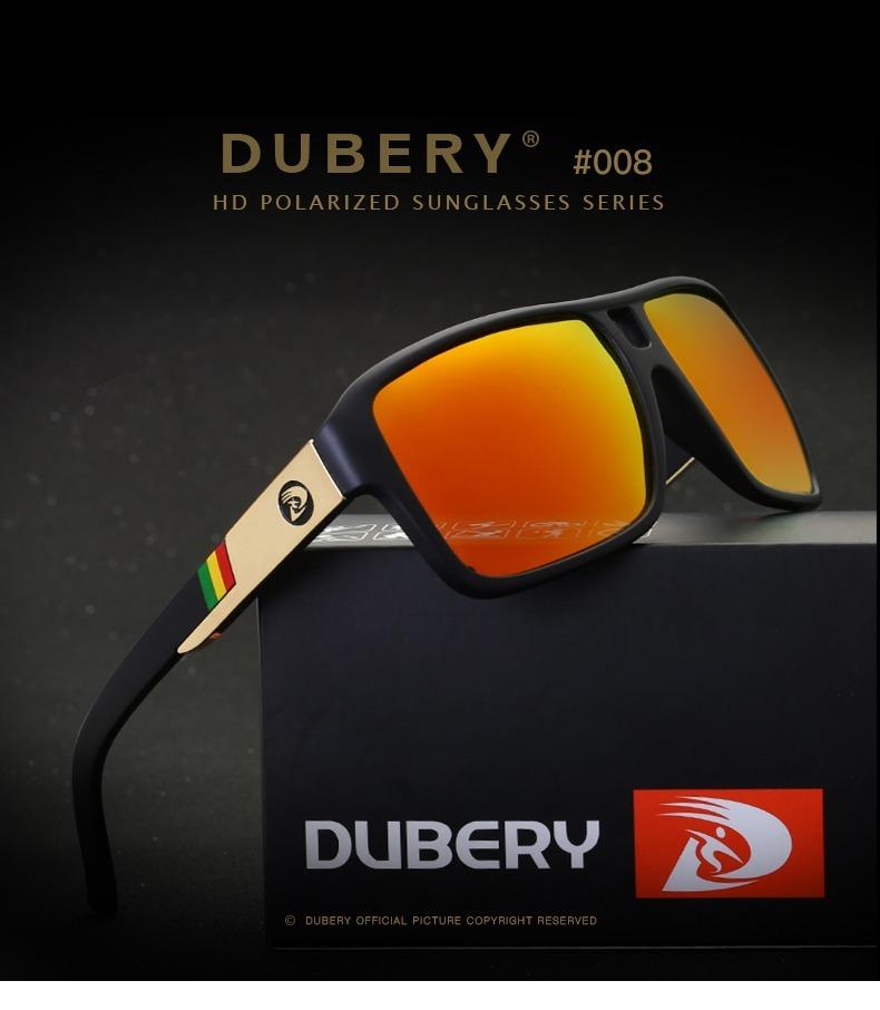 Dubery Aviação Óculos Polarizados Unisex Original - R  75,00 em ... 3c23d1bb87