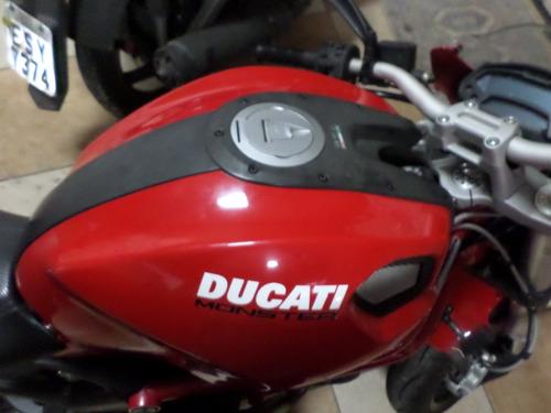 ducati 2013 pouco uso tudo pago monster 796