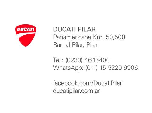 ducati diavel carbon asphalt 0km 2017 - ducati pilar