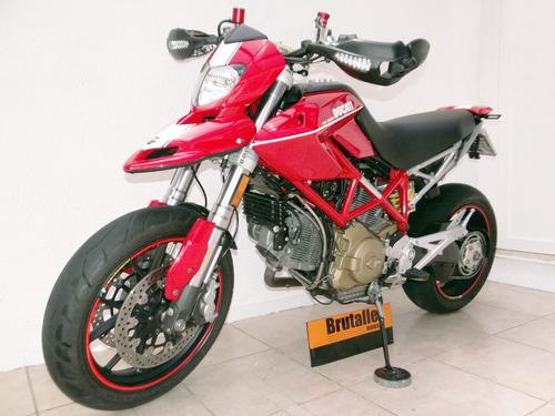 ducati hypermotard 1100 s 2008 vermelha