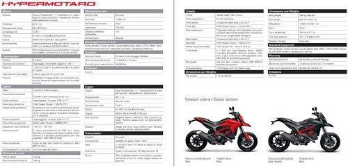 ducati hypermotard 821 - casi nueva - la mejor - financiada