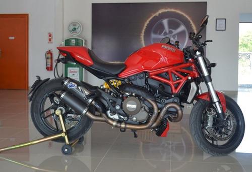 ducati monster 1200 6000 km + accesorios