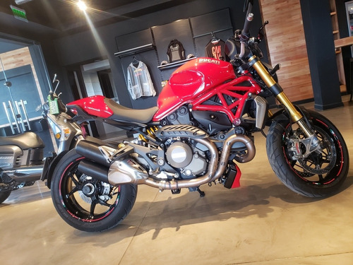 ducati monster 1200 s solo en gs motorcycle