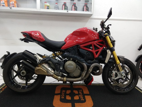 ducati monster 1200 s vermelha 2015 - target race