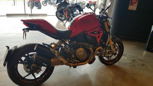 ducati monster 1200s 2018  6500 km gs motorcyle