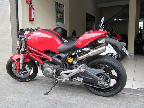 ducati monster 696 abs 2010 vermelha