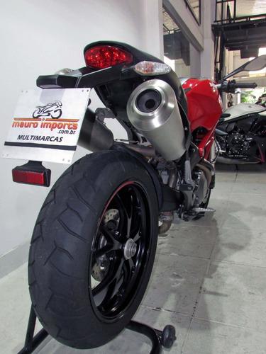 ducati monster 796  2014 vermelha