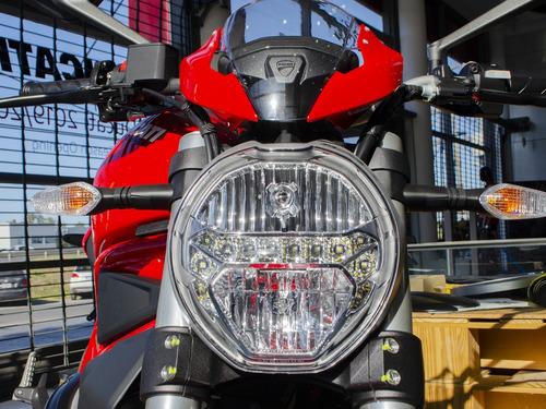 ducati monster 797 red line