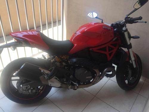 ducati monster monster 821 821 gasolina