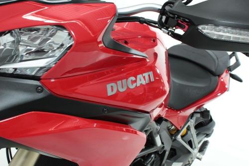 ducati multistrada 1200 2014 vermelha