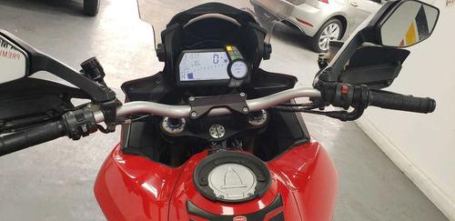 ducati, multistrada 1200cc, rojo, 2012