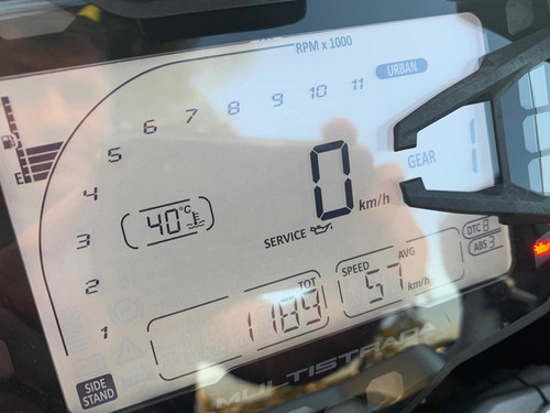 ducati multistrada 950 2018 com apenas 1.200kms