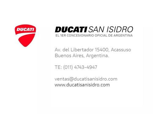 ducati multistrada 950 blanca con pack (011) 4743-4947