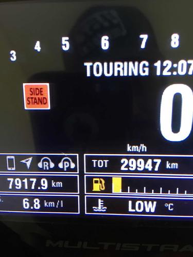 ducati multistrada s touring 2016 (modelo novo)