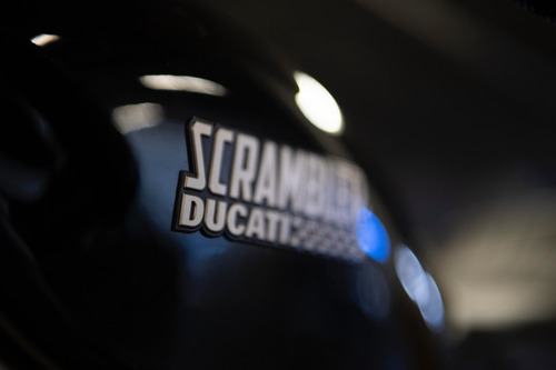 ducati scrambler cafe racer 2017 solo 3200 kms