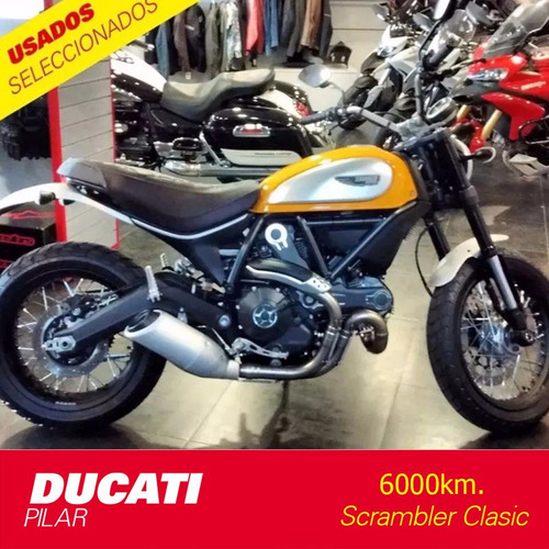 ducati scrambler classic 800 6000km 2016