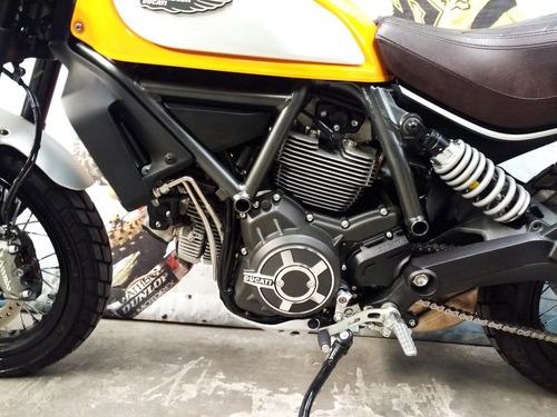 ducati scrambler classic 800 como nueva con accesorios dompa