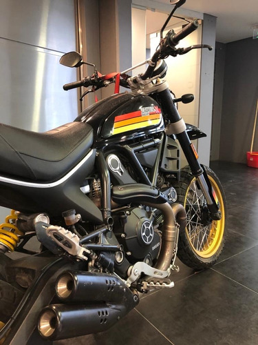ducati scrambler desert sled 2017 - lista para transferir!