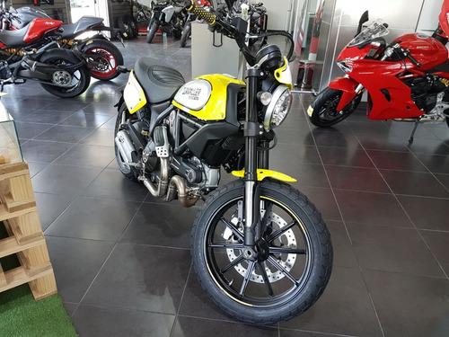 ducati scrambler flat track  800cc 2017 0km ducati rosario
