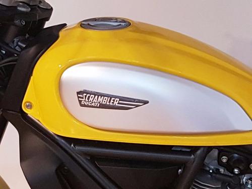 ducati scrambler icon 0 km (casco de regalo)