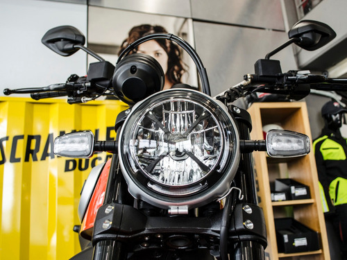 ducati scrambler icon 0km 2019- conocela en ducati pilar