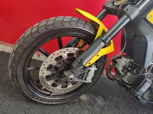 ducati scrambler icon 800 abs 2016 amarela amarelo