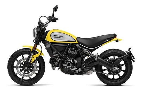 ducati scrambler icon yellow 2020  - hilton motors