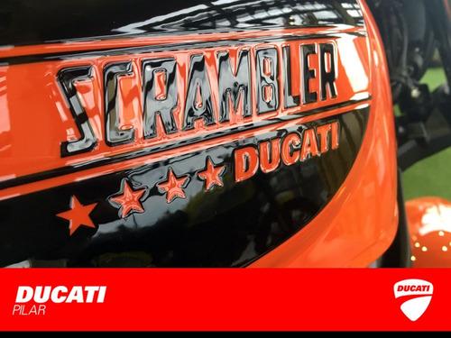 ducati scrambler sixty2 0km con el 1er service bonificado