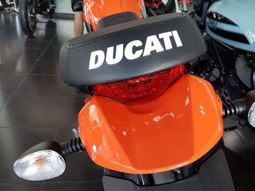 ducati scrambler sixty2 naranja 400 2019 0km ducati rosario