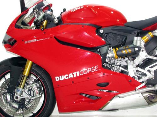 ducati superbike 1199 panigale s  2015 vermelha