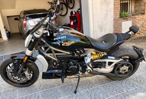 ducati x diavel s touring pack + acc. rizoma