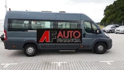 ducato 0km 2019 minibus/maxic. 10+1 15+1 retira $150.000 p-