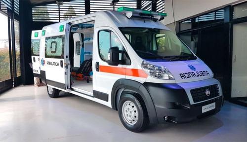 ducato ambulancia retira con $1.400.000 y 24 cuotas x-